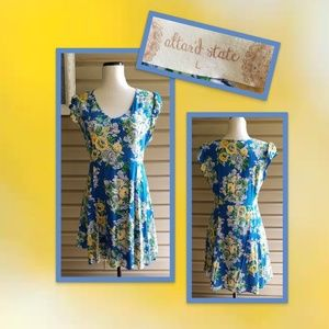 Altar'd State Floral Midi Dress